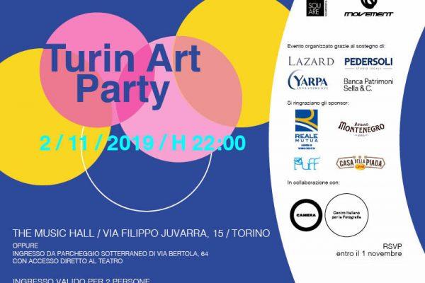 Invito Web_Turin Art Party